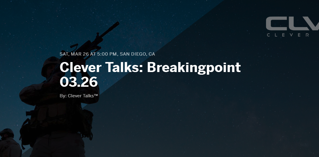 Clever Talks Breaking-point Live Stream