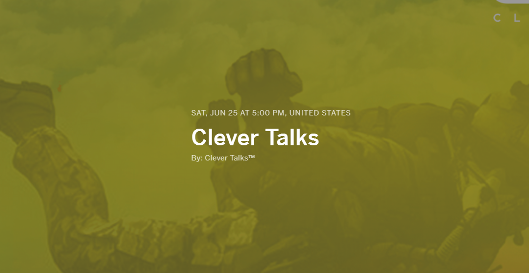 Clever Talks Live Stream